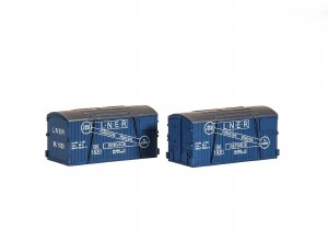 Peco N NR-214 LNER Furniture Removals Container (pack of 2)