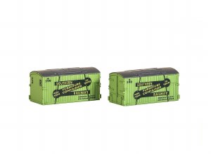Peco N NR-215 SR Furniture Removals Container (pack of 2)