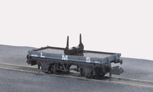 Peco N NR-39M 10ft Wheelbase Bolster, Wagon