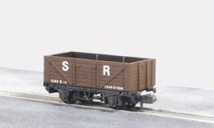 Peco N NR-41S 10ft Wheelbase Coal, 7 plank S