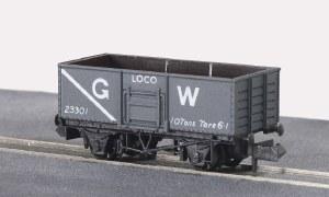 Peco N NR-41W 10ft Wheelbase Coal, 7 plank G