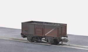 Peco N NR-44FW 10ft Wheelbase Coal Butterley
