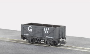 Peco N NR-44W 10ft Wheelbase Coal Butterley