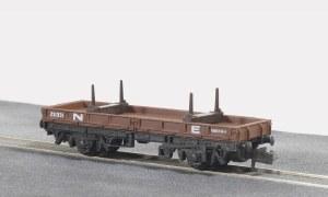Peco N NR-4E 15ft Wheelbase Bolster Wagon,