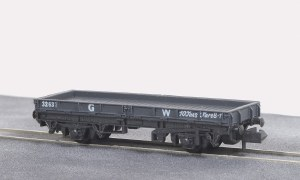 Peco N NR-5W 15ft Wheelbase Plate Wagon, GW