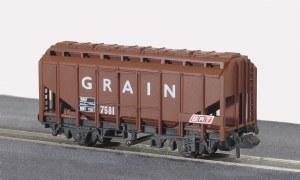 Peco N NR-66 15ft Wheelbase Grain Wagon, br