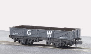 Peco N NR-7W 15ft Wheelbase Tube Wagon, GW,