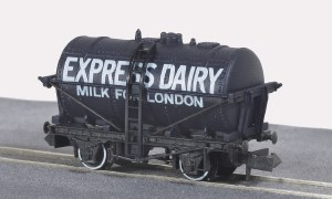 Peco N NR-P168 10ft Wheelbase Milk Tank Wagon