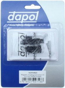 Dapol N 2A-000-009 Magnetic Coupling Conversion Kit for Non NEM Pockets