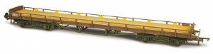 Oxford Rail OO OR76CAR002B Carflat BR B745893 Heavily Weathered