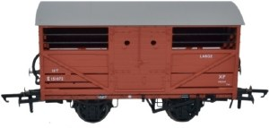 Oxford Rail OO OR76CAT001B Cattle Wagon BR (ex LNER) E151872