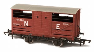 Oxford Rail OO OR76CAT003 Cattle Wagon NE 196488