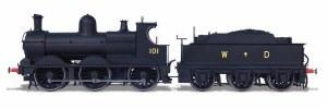 Oxford Rail OO OR76DG006 Dean Goods War Department