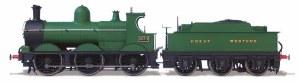 Oxford Rail OO OR76DG010 Dean Goods GWR 2534