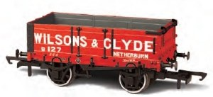 Oxford Rail OO OR76MW4003 4 Plank Wagon 'Wilsons & Clyde' 127