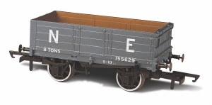 Oxford Rail OO OR76MW4007 4 Plank Wagon NE (ex NBR) 155629