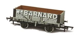 Oxford Rail OO OR76MW5004 Wm Barnard Worcester No23 5 Plank Mineral Wagon