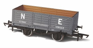 Oxford Rail OO OR76MW6001B 6 Plank Wagon NE 139522