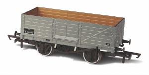 Oxford Rail OO OR76MW6002B 6 Plank Wagon BR E163353