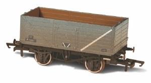 Oxford Rail OO OR76MW7015B 7 Plank Wagon BR Grey P72521 Weathered