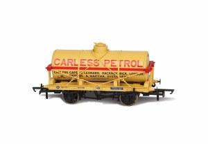 Oxford Rail OO OR76TK2002 Carless Naptha No10 Fuel Oil Tank Wagon 12 Ton