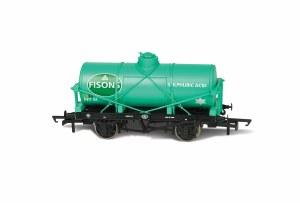 Oxford Rail OO OR76TK2005 Fisons Sulphuric Acid No31 12 Ton Tank wagon