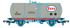 Oxford Rail OO OR76TKA003 Class A Tank 35T GLW 'Esso' 4022 Original Suspension