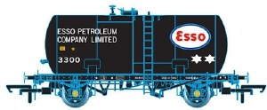 Oxford Rail OO OR76TKB001 Class B Tank 35T GLW 'Esso' Black 3300 Original Suspension