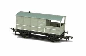 Oxford Rail OO OR76TOB003 Toad Brake Van AA3 4 Wheel BR Plated 35717 Basingstoke