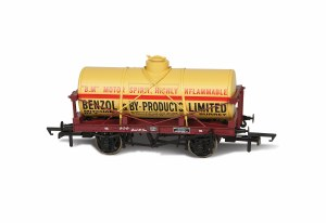 Oxford Rail OO OR76TK2004 Benzol and By Products No1000 12 Ton Tank wagon