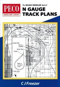 Peco N PB-4 Railway Modeller Book of N gauge Track Plans