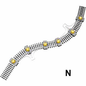 Proses N PFT-N-01 N Flexible Track Holder