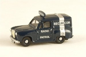 Pocketbond Classix OO PKEM76666 Austin A35 Van SECURICOR RADIO PATROL