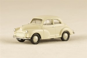 Pocketbond Classix OO PKEM76832 Morris Minor 2-door Saloon WHITE