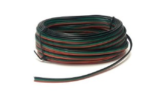 Seep Other PM51 Point Motor Wire (Red, Green & Black) 10m