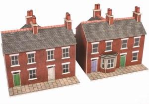Metcalfe N PN103 Red Brick Terraced Houses