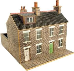 Metcalfe N PN104 Stone Built Terraced Houses