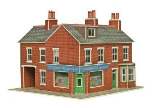 Metcalfe N PN116 Corner Shops Red Brick