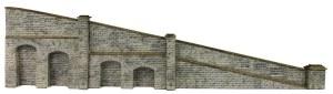 Metcalfe N PN149 Tapered Retaining Walls Stone