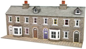Metcalfe N PN175 Low Relief Stone Terraced House Fronts
