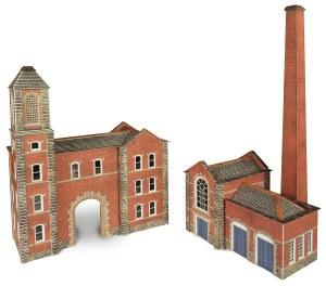 Metcalfe N PN184 Factory Entrance & Boiler House
