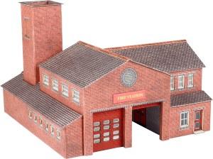 Metcalfe N PN189 Fire Station Kit