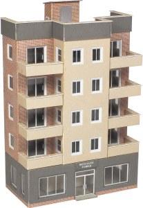 Metcalfe N PN960 Tower Block Low Relief