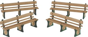 Metcalfe OO PO501 GWR Benches