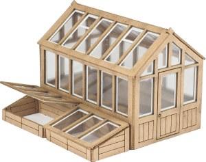 Metcalfe OO PO514 Greenhouse