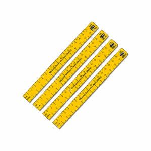 Proses OO PPR-CR-76M 1:76 Scale Conversion Ruler (Metric) OO