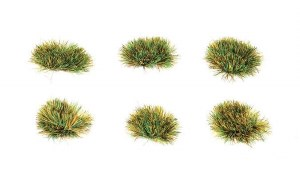 Peco Other PSG-54 4mm Self Adhesive Grass Tufts Spring (Pack of 100)