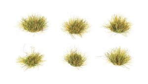 Peco Other PSG-64 6mm Self Adhesive Grass Tufts Spring (Pack of 100)