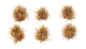 Peco Other PSG-75 10mm Self Adhesive Grass Tufts Patchy (Pack of 100)