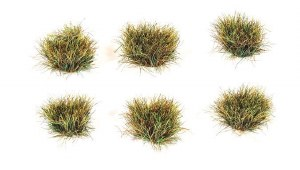 Peco Other PSG-76 10mm Self Adhesive Grass Tufts Autumn (Pack of 100)